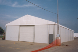 Portable Shelter in Houston, TX | Temporary Warehouse Structures