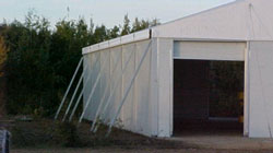 Temporary Warehouse Structure Door