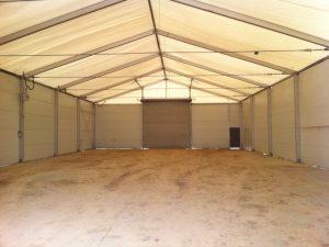 TWS | inside a temporary warehouse