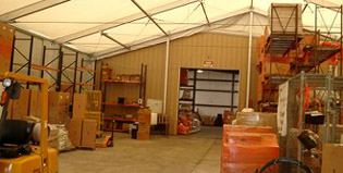 Storage in Houston, TX | Temporary Warehouse Structures